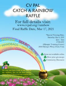 Rainbow Raffle Flyer Image